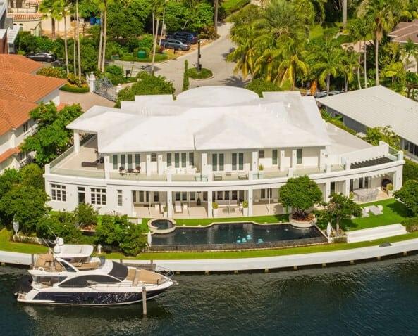 Pic 2 - waterfront mansion